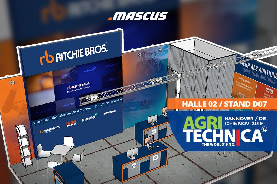 Mascus auf der Agritechnica