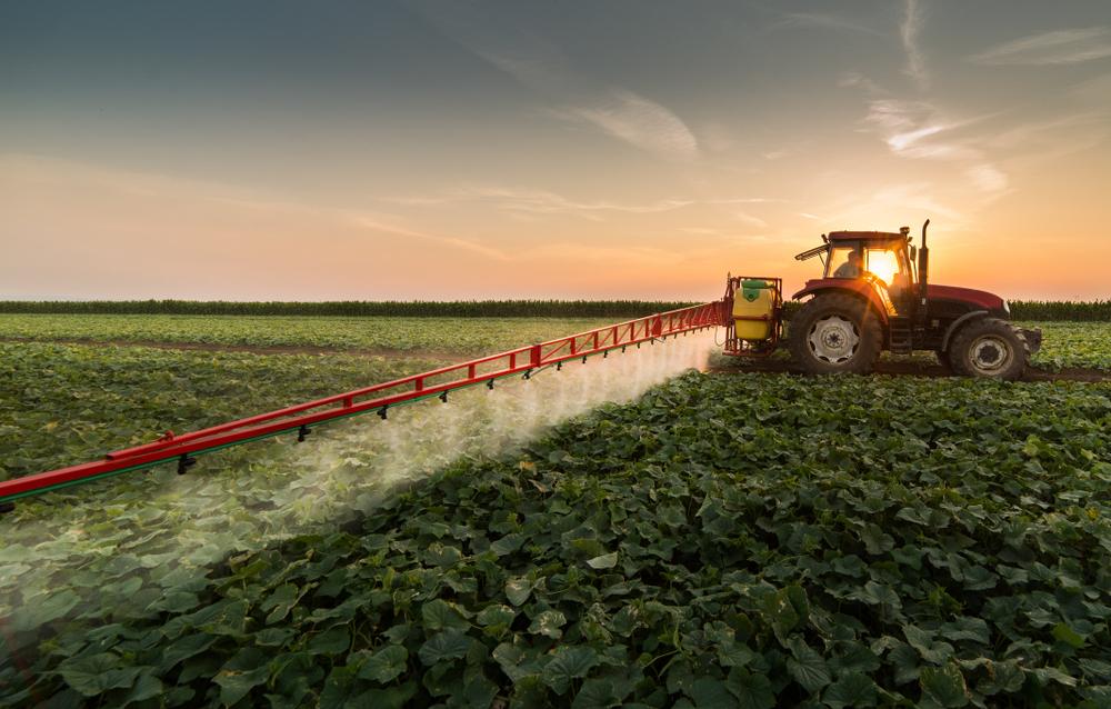 Gesündere Landwirtschaft mit Feldspritzen