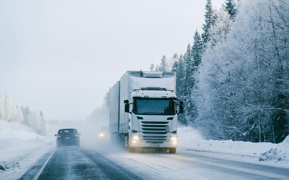 Nützliche Tipps für das Lkw-Fahren im Winter